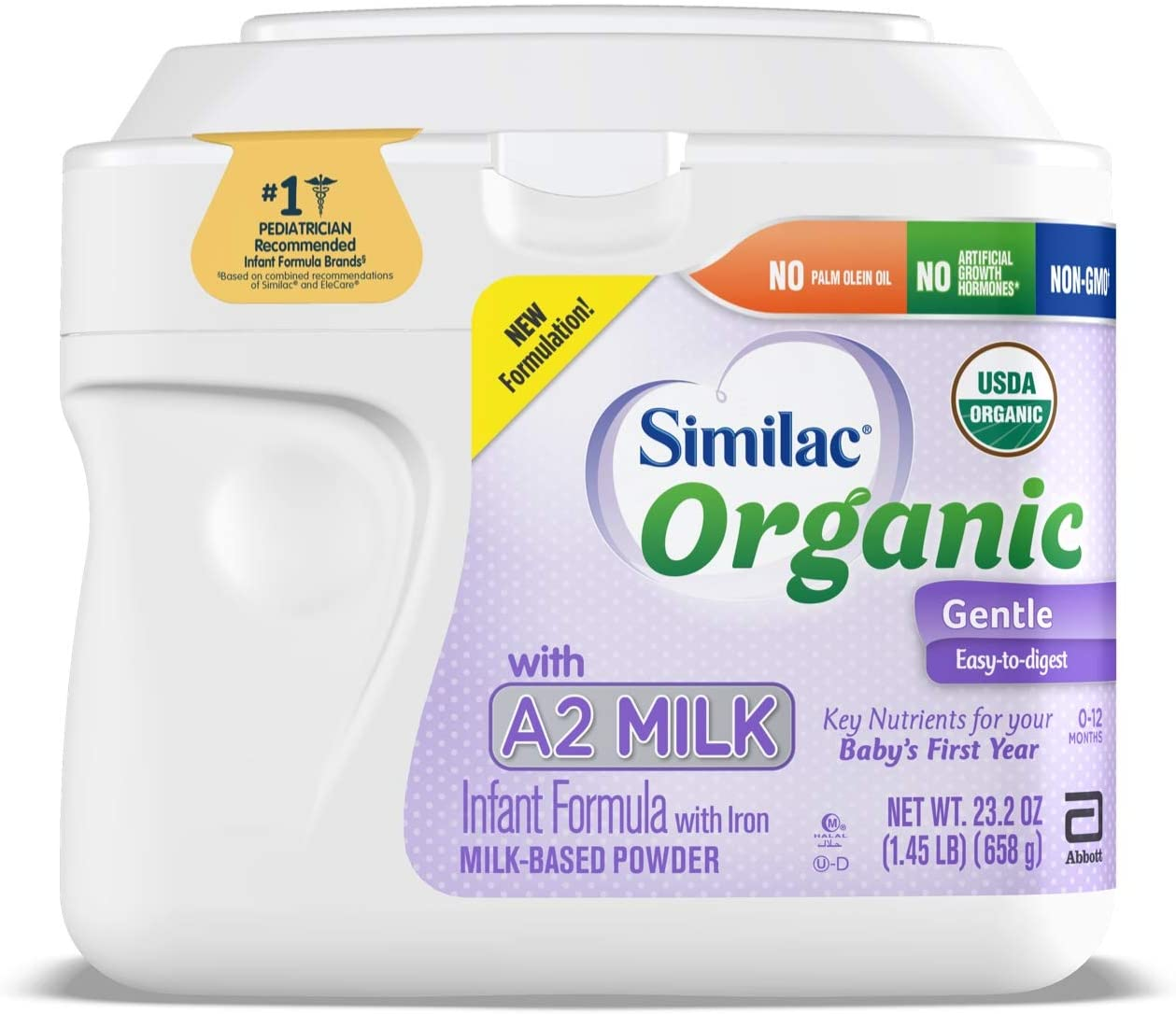sữa bột similac organic with a2 milk